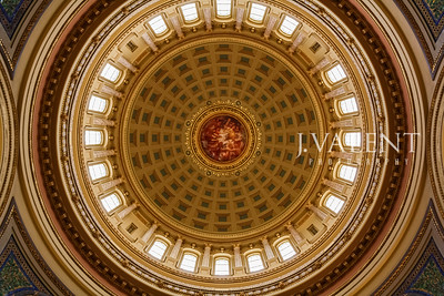 WIsconsin State Capitol, Madison WI - Rotunda