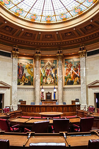 WIsconsin State Capitol, Madison WI - Senate Chamber