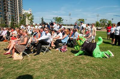 United Way Campaign Kick Off @ Romare Bearden Park 9-2-14