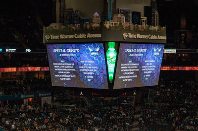 United Way Community Day @ The Charlotte Hornets 11-1-15