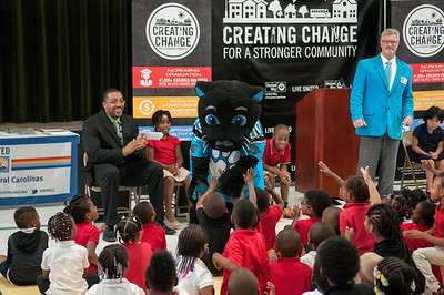 United Way Pep Rally Campaign Announcement @ Walter G Byers Elementary 9-22-15