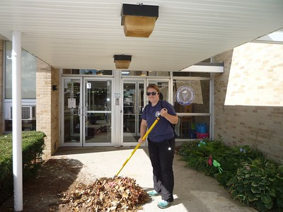 United Way Day of Caring at Page Hilltop