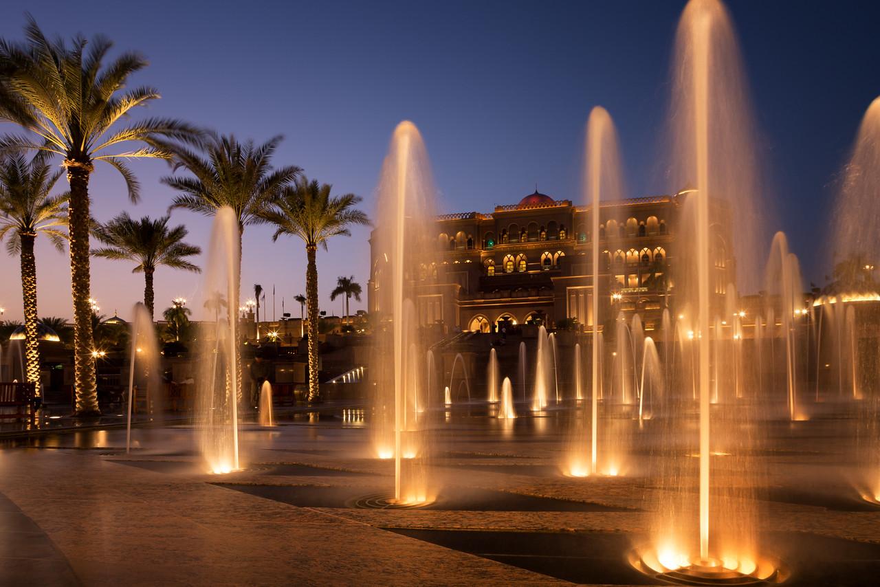 Emirates Palace Fountains - UAE