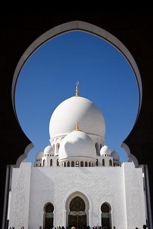 Sheikh Zayed Mosque - Abu Dhabi - UAE