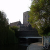 Bridge over the River Darent which is pretty much canalised through the town. The Holy Trinity Church in the background