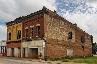 Vintage Coca Cola Ad in Guthrie