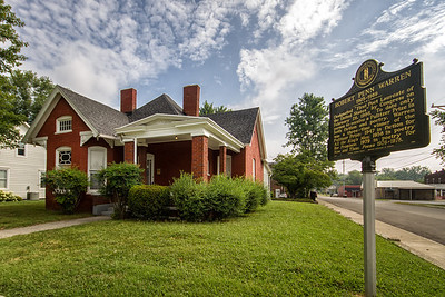 Robert Penn Warren home in Guthrie