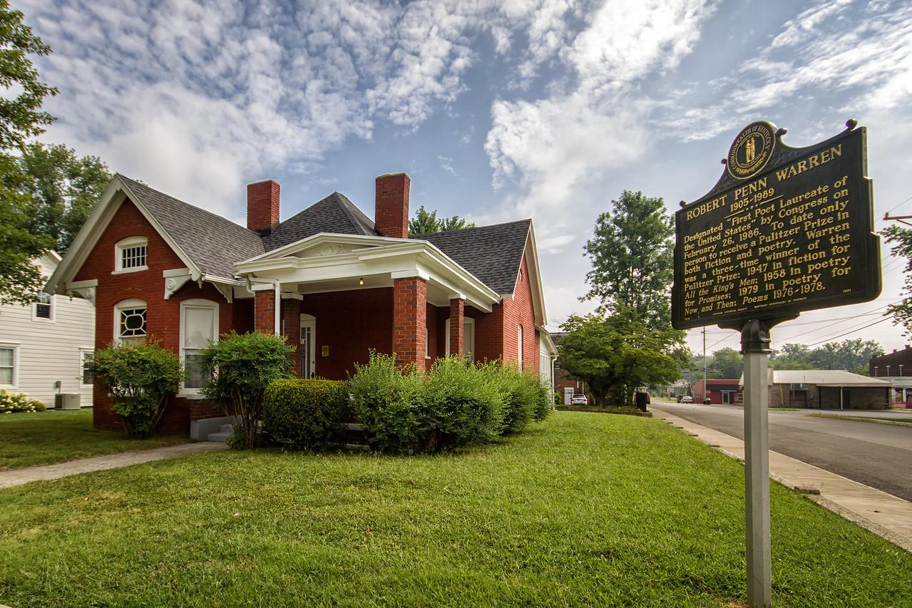 Robert Penn Warren home in Guthrie