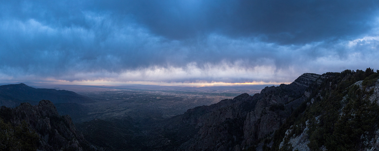 Sandia Mountains View, Albuquerque