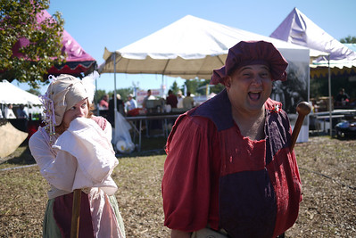 The Village Idiot at the Lady of the Lakes Renaissance Festival, Orlando, Florida