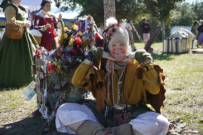 Looney Lucy at the Lady of the Lakes Renaissance Festival, Orlando, Florida