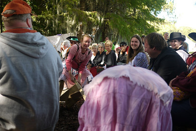 The Washing Well Wenches in action at the Lady of the Lakes Renaissance Festival, Orlando, Florida