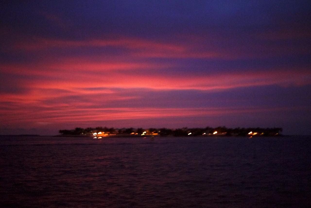 Sunset Celebration in Mallory Square, Key West, Florida