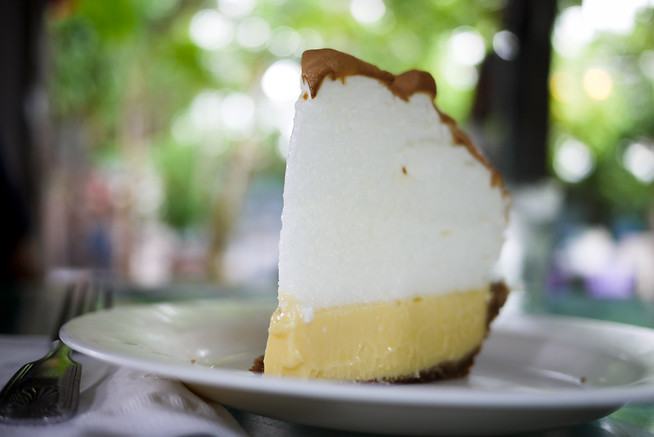 Key Lime Pie down south in Key West, Florida