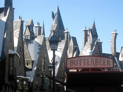 Hogsmeade town at the Wizarding World of Harry Potter, Universal Studios Orlando