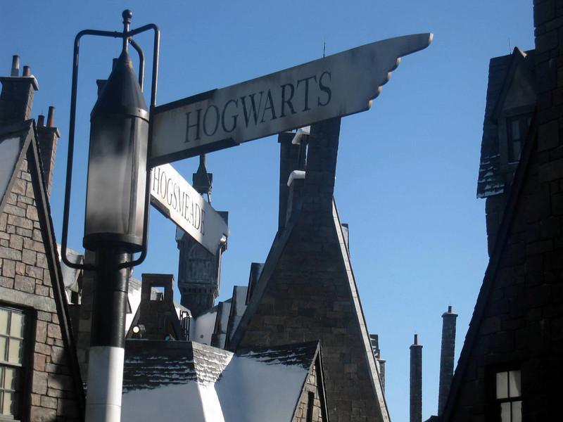 Hogwarts at the Wizarding World of Harry Potter, Universal Studios Orlando