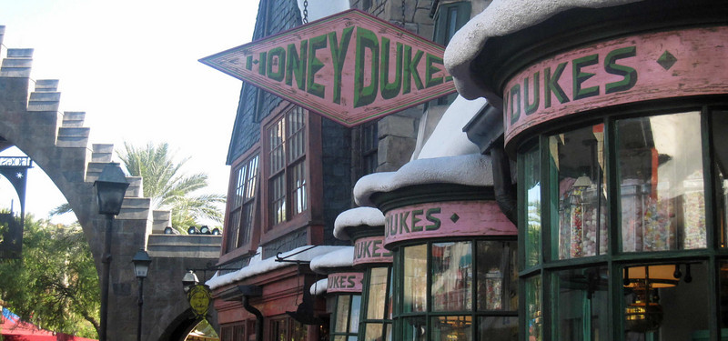 Honey Dukes sweets shop at the Wizarding World of Harry Potter, Universal Studios Orlando