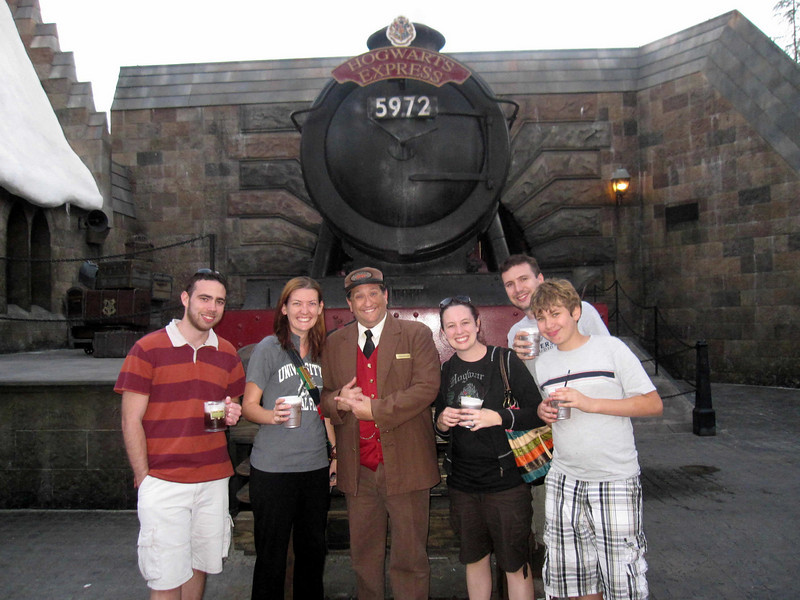 All aboard the Hogwarts Express at the Wizarding World of Harry Potter, Universal Studios Orlando