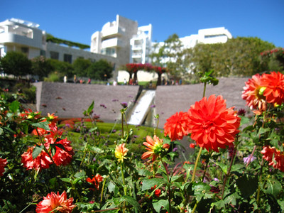 Getty Center in Los Angeles, California