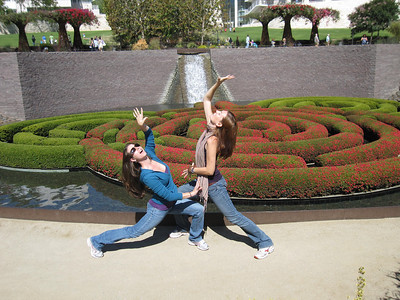 Getty Center in Los Angeles, California