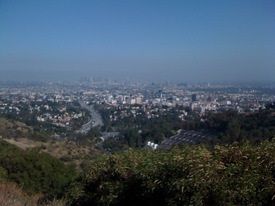 Los Angeles from Muholland Drive