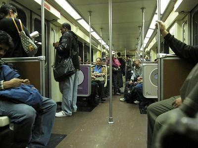 Riding the Metro in LA