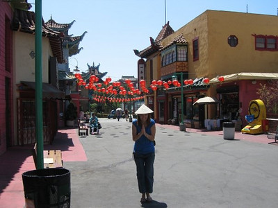 Chinatown in Los Angeles