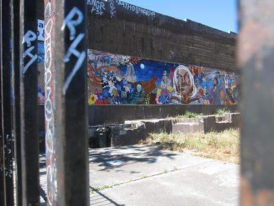 Graffiti on Telegraph Ave in Berkeley