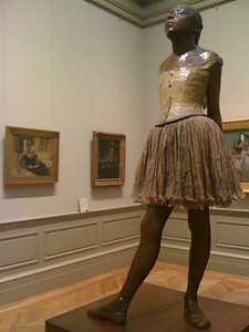 Elegant Ballerina Sculpture by Degas