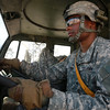 U.S. Army Sgt. Thomas Cosby, Food Service Specialist, drives a M1078 LMTV, to U.S. Army Soldiers training at National Training Center, Ft. Irwin, CA., Jan. 10, 2017. The National Training Center conducts tough, realistic, Unified Land Operations with our United Action Partners to prepare Brigade Combat Teams and other units for combat while taking care of Soldiers, Civilians, and Family members. (U.S. Army Spc. Tracy McKithern/Released)