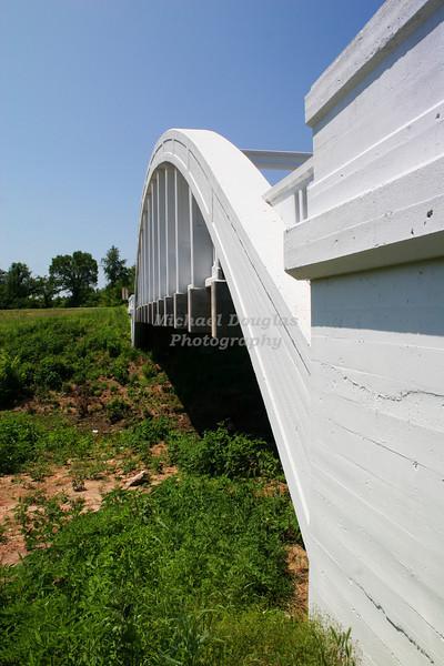 Rainbow Curve Bridge over Brush Creek near Baxtor Springs, Kansas