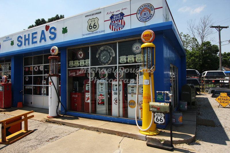An must see collection of Route 66 memorabilia at Shea's in Springfield, Illinois