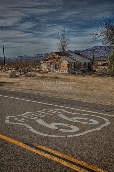Old Route 66 in California