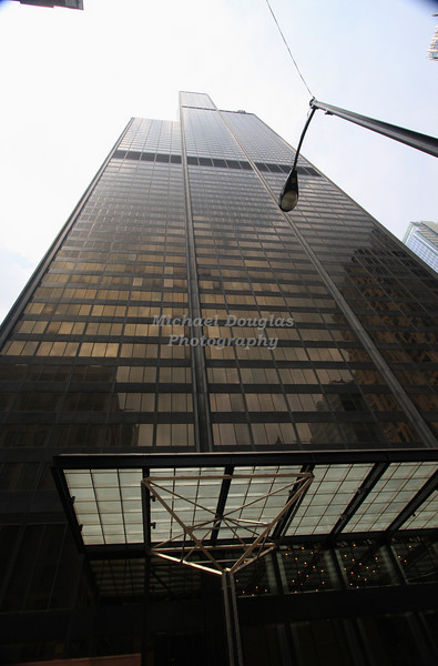 The Sears Tower in Chicago, Illinois