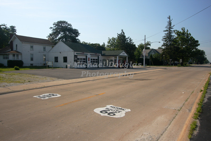 The Ambler Becker Texaco Station located in Dwight, Illinois