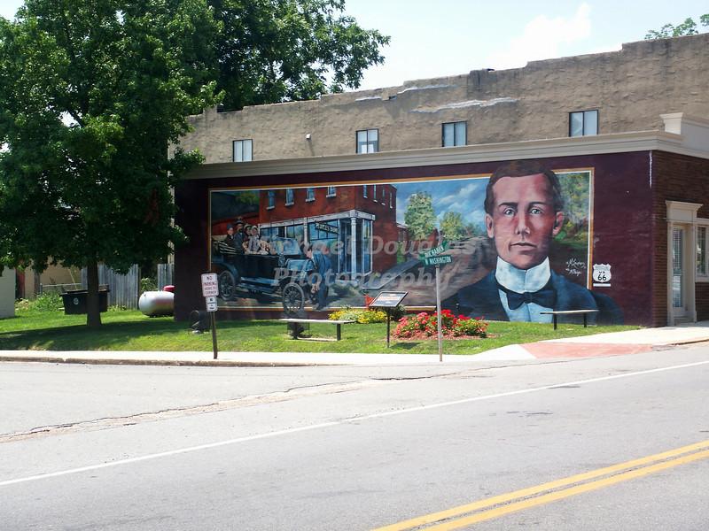 Route 66 Mural City - Cuba, Missouri