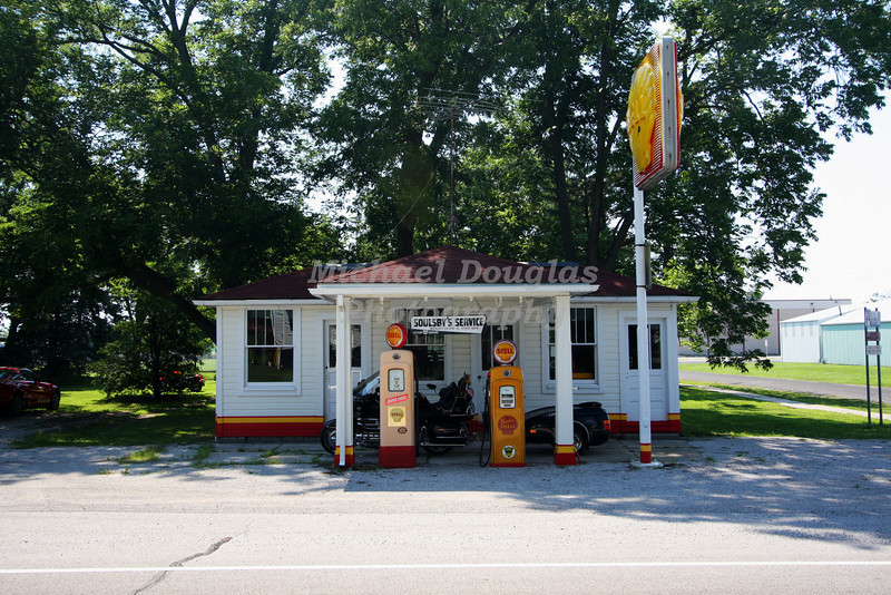 Soulsby's Shell Station located in Mt. Olive, Illinois.