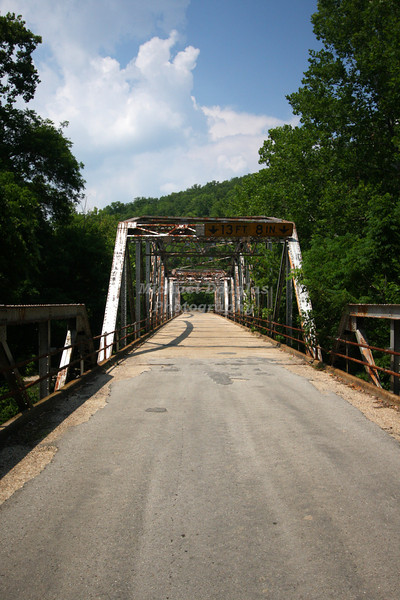 1923 Bridge over the Big Piney River in Devils Elbow, Missouri