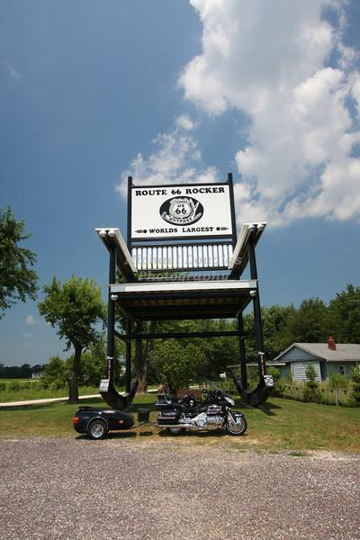 Worlds Largest Rocking Chair in Fanning, Missouri