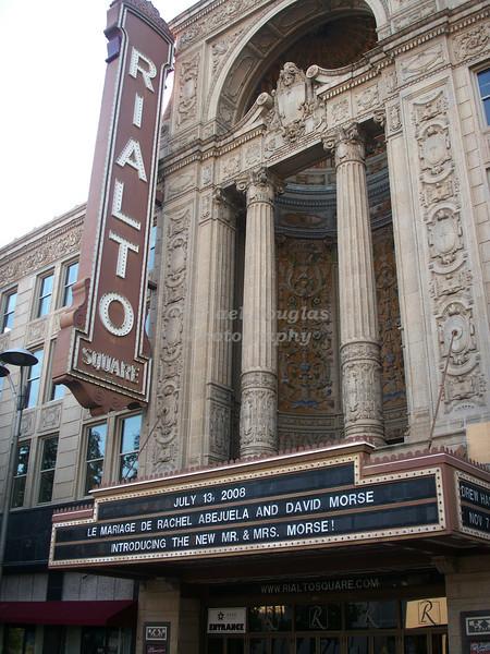 """The Famous """"Rialto"""" in Joliet, Illinois"""