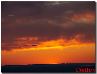2931_J9182351-Maine : Sunset from the asummit of Cadillac Mountain, Acadia NP, Mount Desert Island