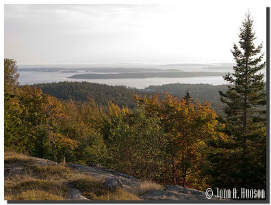 2951_J9252417-Maine : Ascending Day Mountain, north east of Northeast Harbour, Acadia NP, Mount Desert Island