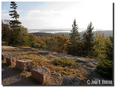 2950_J9252416-Maine : Ascending Day Mountain, north east of Northeast Harbor, Acadia NP, Mount Desert Island
