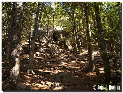 2933_J9212358-Maine : Ascending Acadia Mountain [near Southwest Harbor], Acadia NP, Mount Desert Island