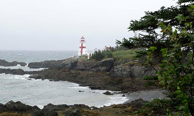 P9023628 - East Quoddy Head Lighthouse, Passamaquoddy Bay, Campobello Island, on the south coast of New Brunswick, abutting the border with the US