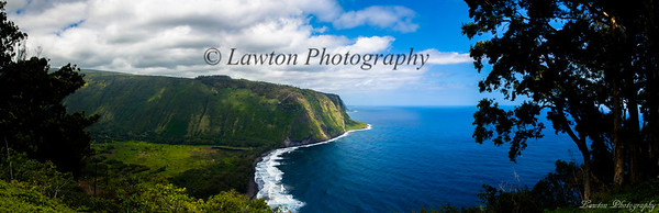 Waipio Valley Pano