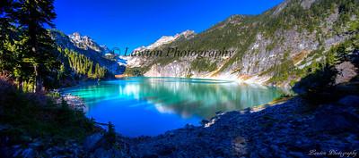 Blanca Lake on first sight