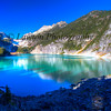 Blanca Lake on first sight