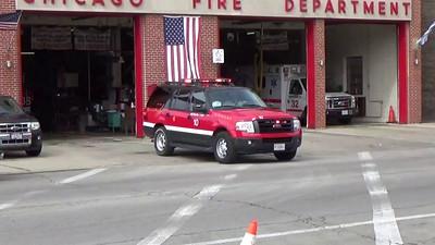 Eng 124, Truck 38 & Batt 10 responding