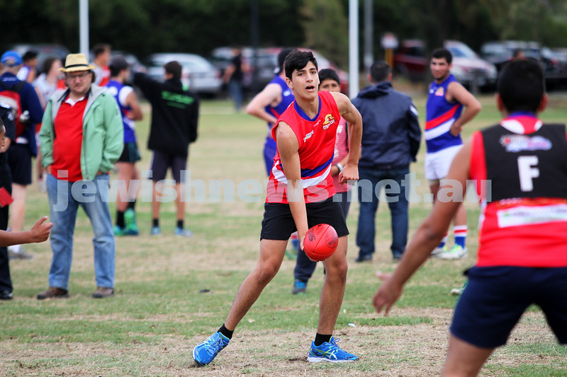 16-3-14. Unity Cup. J J Holland Reserve, Kensington.MUJU Team v Pakistan. Photo: Peter Haskin